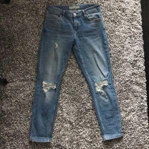 Topshop Lucas slim leg boyfriend jeans W26 L30